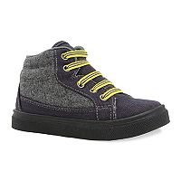 Oomphies Tyler Boys' High Top Sneakers