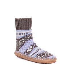 Women's MUK LUKS Short Slipper Socks
