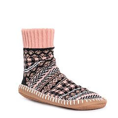 Women's MUK LUKS Short Slipper Socks