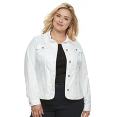 Plus Size Croft & Barrow® Jean Jacket