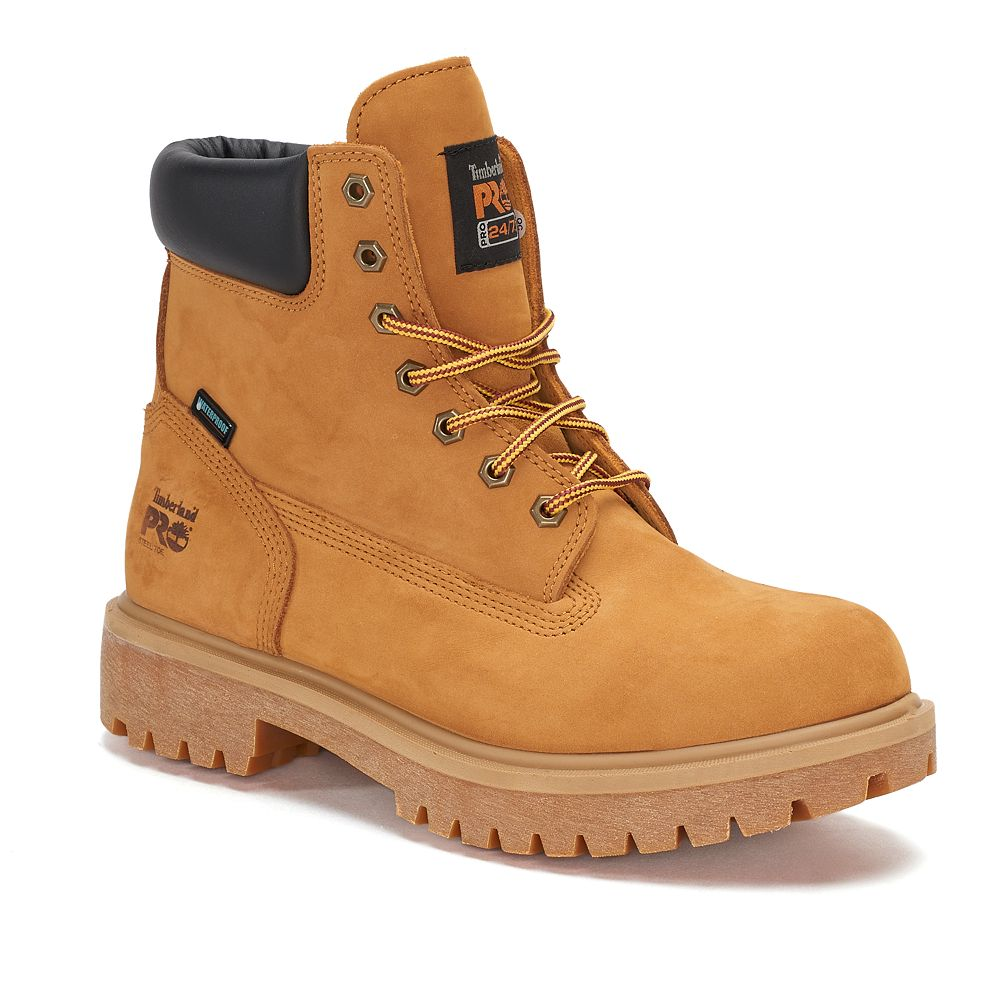 choose authentic attractive designs crazy price Timberland PRO Direct Attach Men's Waterproof 6-in Steel Toe Work Boots