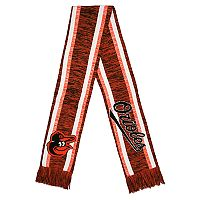 Baltimore Orioles Knit Team-Color Scarf