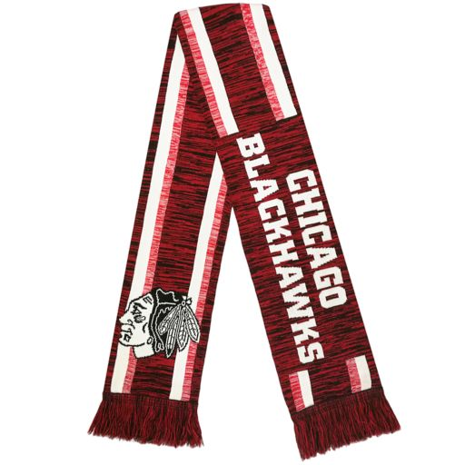 Forever Collectibles Chicago Blackhawks Knit Scarf