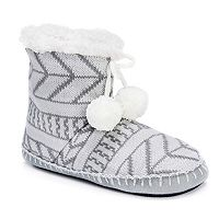 Women's MUK LUKS Bootie Slippers