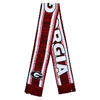 Forever Collectibles Georgia Bulldogs Knit Scarf