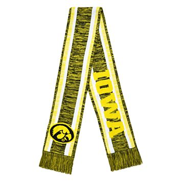 Forever Collectibles Iowa Hawkeyes Knit Scarf