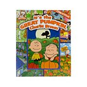 'It's the Great Pumpkin Charlie Brown' Look-and-Find Halloween Book