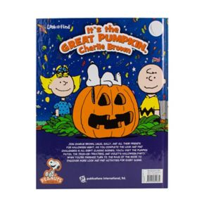 """""""It's the Great Pumpkin Charlie Brown"""" Look-and-Find Halloween Book"""