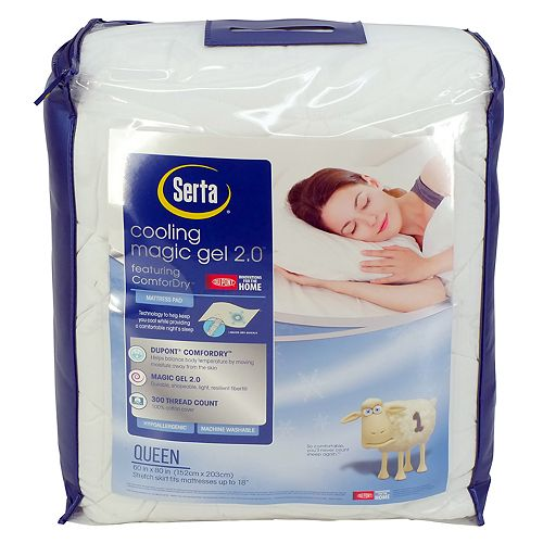 Serta Cooling Magic Gel 2.0 Mattress Pad