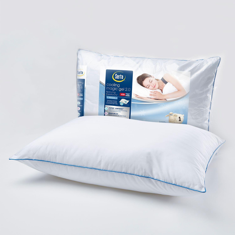 serta cooling magic gel 20 bed pillow regular