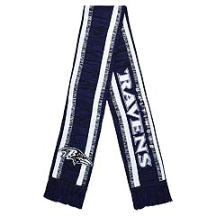 Forever Collectibles Baltimore Ravens Knit Scarf