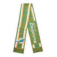 Forever Collectibles Miami Dolphins Knit Scarf