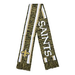 Forever Collectibles New Orleans Saints Knit Scarf