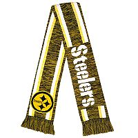 Forever Collectibles Pittsburgh Steelers Knit Scarf
