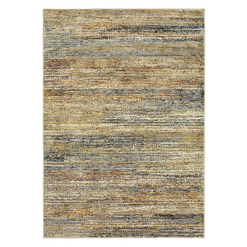StyleHaven Asante Striped Rug, Gold, 8X11 Ft Product Image