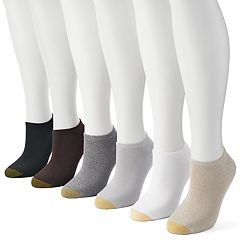 Women's GOLDTOE 6-pk. Solid Soft Liner Socks