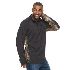 Men's Realtree Canyon Quarter-Zip Windshirt