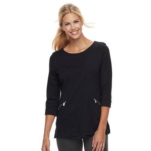 Women's Croft & Barrow® Pullover Tunic Top