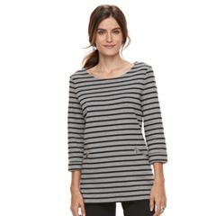 Women's Croft & Barrow® Pullover Tunic Top