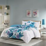 Intelligent Design Floral Comforter Set