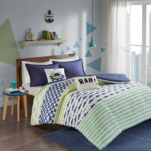 Urban Habitat Kids Aaron Shark Comforter Set