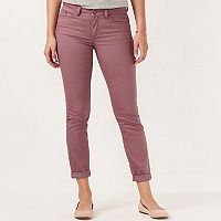 Women's LC Lauren Conrad Cuffed Ankle Skinny Jeans