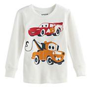 Disney / Pixar Cars 3 Toddler Boy Lightning McQueen & Mater Thermal Tee by Jumping Beans®