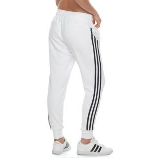 Women's adidas Fleece Striped Jogger Pants