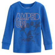 "Disney's Mickey Mouse Toddler Boy ""Amped Up"" Thermal Long Sleeve Tee by Jumping Beans®"