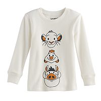 Disney's The Lion King Toddler Boy Simba, Timon & Pumbaa Thermal Long Sleeve Tee by Jumping Beans®
