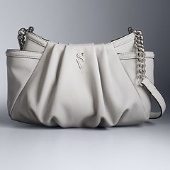Simply Vera Vera Wang Morris Pleated Crossbody Bag