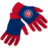 Adult Forever Collectibles Chicago Cubs Knit Colorblock Gloves