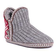 Women's MUK LUKS Adraiana Knit Bootie Slippers