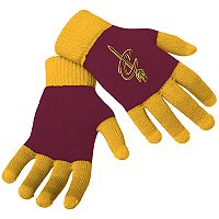 Adult Forever Collectibles Cleveland Cavaliers Knit Colorblock Gloves