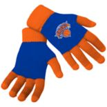 Adult Forever Collectibles New York Knicks Knit Colorblock Gloves