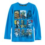 Boys 4-7x Star Wars a Collection for Kohl's Slubbed Characters Tee