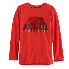 Boys 4-7x Star Wars a Collection for Kohl's Metallic 'Star Wars' Tee
