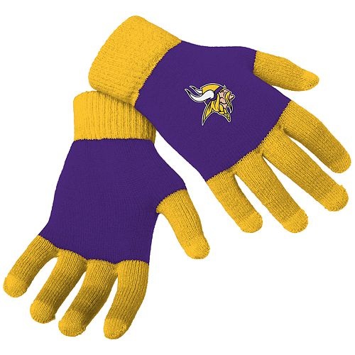 Adult Forever Collectibles Minnesota Vikings Knit Colorblock