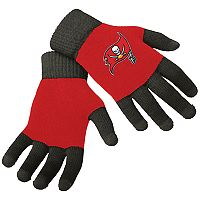 Adult Forever Collectibles Tampa Bay Buccaneers Knit Colorblock Gloves