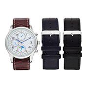 Men's Watch & Interchangeable Band Set