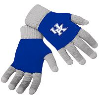 Adult Forever Collectibles Kentucky Wildcats Knit Colorblock Gloves
