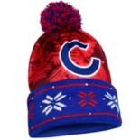 Adult Forever Collectibles Chicago Cubs Light Up Beanie