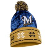 Adult Forever Collectibles Milwaukee Brewers Light Up Beanie