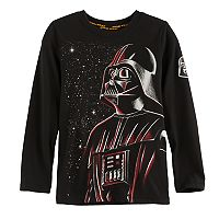 Boys 4-7x Star Wars a Collection for Kohl's Darth Vader Stars Graphic Tee