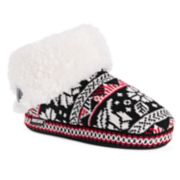 Women's MUK LUKS Melinda Knit Bootie Slippers