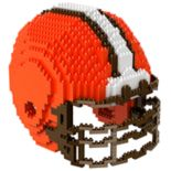 Forever Collectibles Cleveland Browns 3D Helmet Puzzle