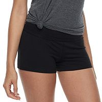 Juniors' SO® Basic Yoga Shorts