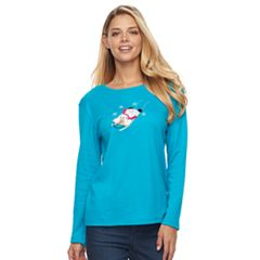 Women's Holiday Long-Sleeve Tee