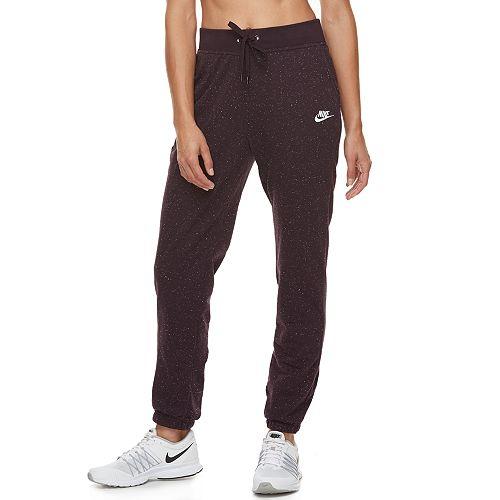 Women's Nike Sportswear Cuffed Fleece Pants