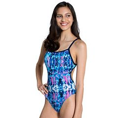 Women's Dolfin Competitive Printed One-Piece Swimsuit